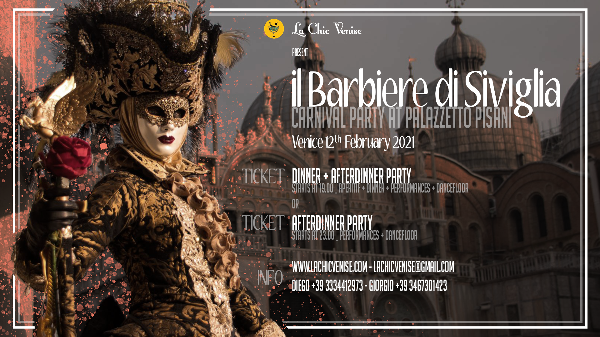 Carnival at Pisani Palace: the Barber of Seville