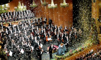 Venice New Year`s Concert 2017/2018  at La Fenice Theater Italy