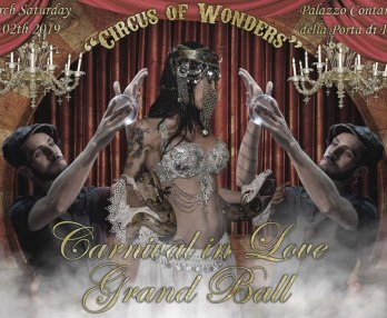 "Carnival in Love Grand Ball 2019 ""Circus of Wonders"""